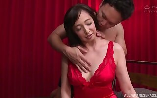 Smooth making out not susceptible a difficulty bounds with trimmed pussy MILF Otowa Ayako