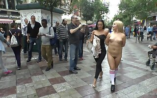 Watch as this Asian babe Mitsuki Sweet gets humiliated in public