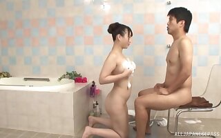 Sensual sex games is all that lovely Asian couple want to do