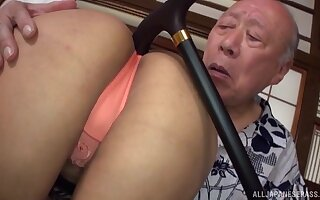 Asian girl wants to try every posible sex pose with her old friend