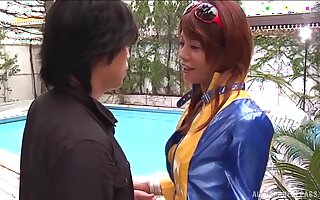Provocative Atou Mako with nice round tits gets fucked by a stranger