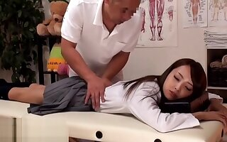Japanese massage with 18 yo goes wrong