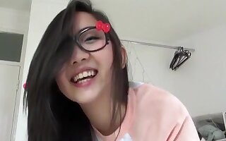 Smutty masturbation glasses Tsu beauty China angel of fat large milk cans