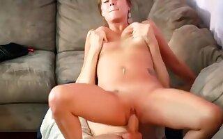 Amazing amateur quickie, premature ejaculation, doggystyle adult movie