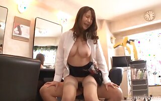 Hardcore shagging at flavourless nearly a prex Japanese amateur babe